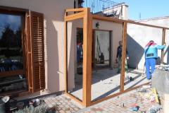 télikert építés Debrecenben