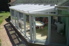 télikert tető 60x60 alumínium merevítővel